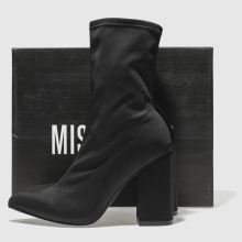 Missguided block heel sock 1