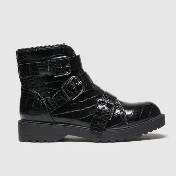 GUESS Black Wendy Womens Boots