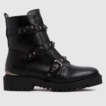 GUESS Black Ocea Womens Boots