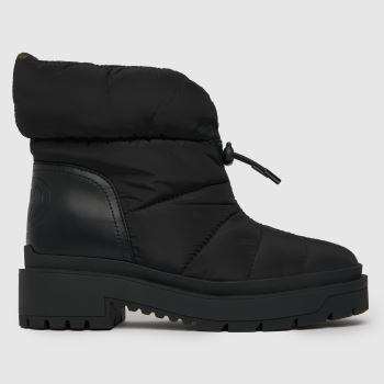 GUESS Black Leeda Boot Womens Boots
