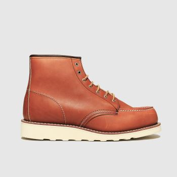 Red Wing Tan 6-inch Classic Moc Womens Boots