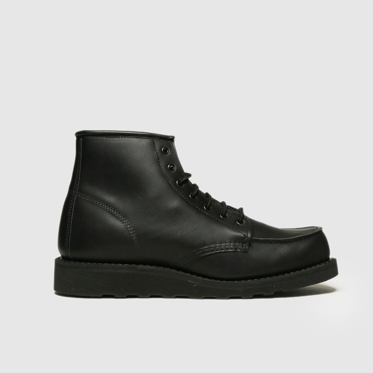 Red Wing Red Wing Black 6-inch Classic Moc Boots