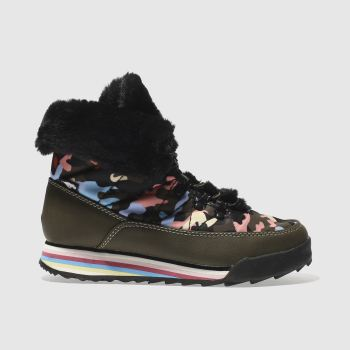 ROCKET DOG KHAKI ICEE CANDY CAMO BOOTS