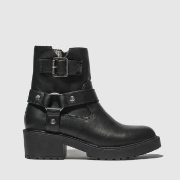 Rocket Dog Black Pluto Womens Boots