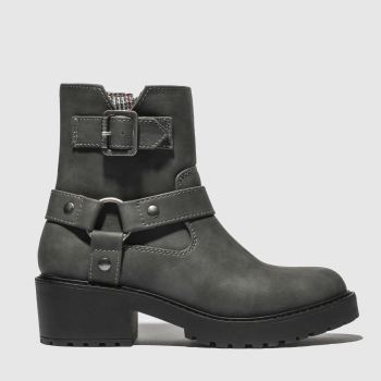 Rocket Dog Grey Pluto Womens Boots