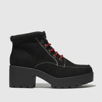 Rocket Dog Black Carden Womens Boots