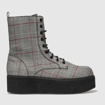 Rocket Dog Grey Rage Chloe Bartoli Womens Boots