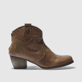 RED OR DEAD Tan Mountain Womens Boots
