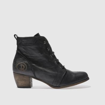 Red Or Dead Black Exam Womens Boots#