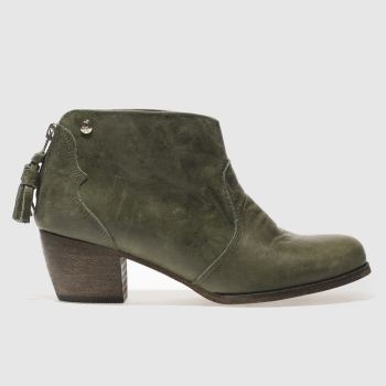 Red Or Dead Khaki Barmy Blanche Womens Boots