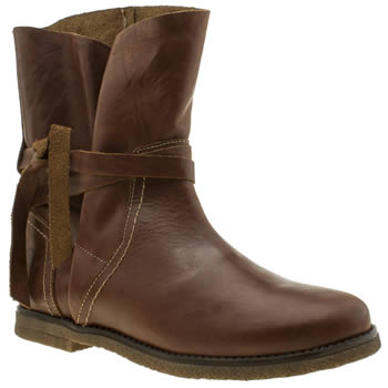 RED OR DEAD BROWN ETHEL BOOTS