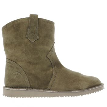 RED OR DEAD KHAKI GEORGETTA BOOTS
