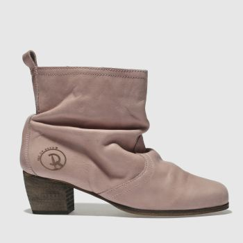 RED OR DEAD PALE PINK KENTUCKY BOOTS