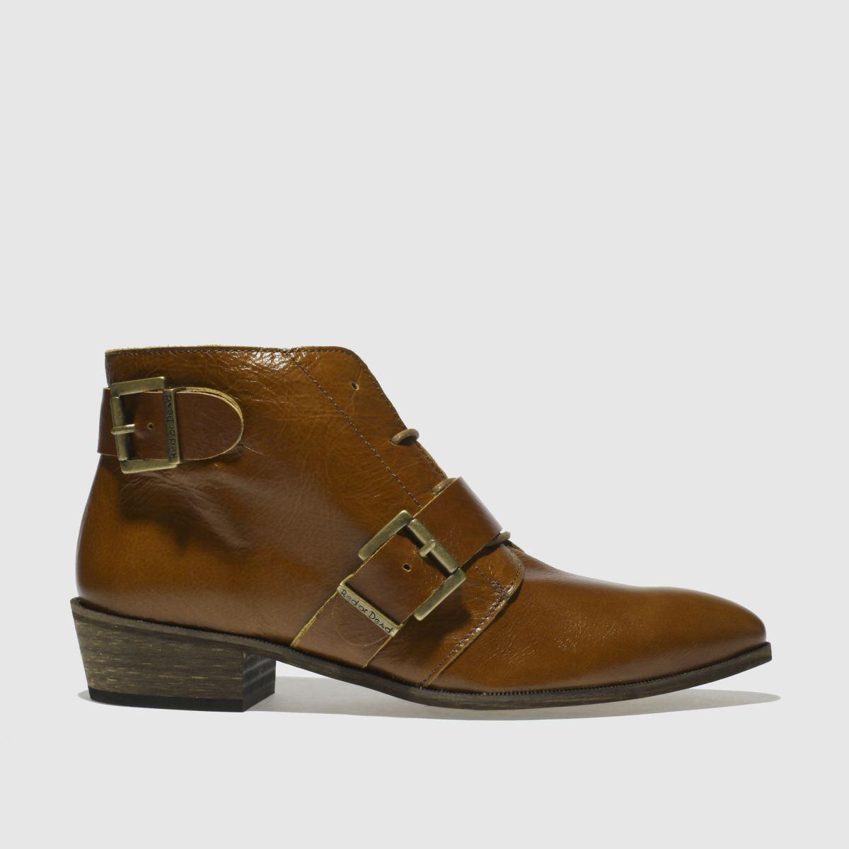 Red Or Dead Tan Dallas Boots