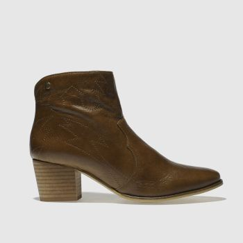 Red Or Dead Tan Miss Cassidy Womens Boots