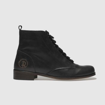 Red Or Dead Black Daphne Womens Boots from Schuh