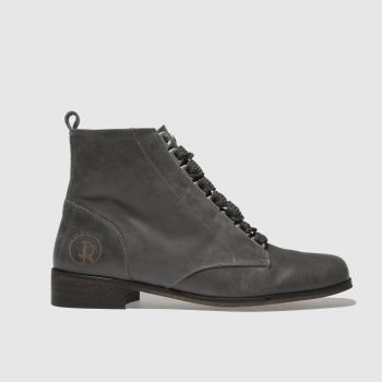 Red Or Dead Grey Daphne Womens Boots