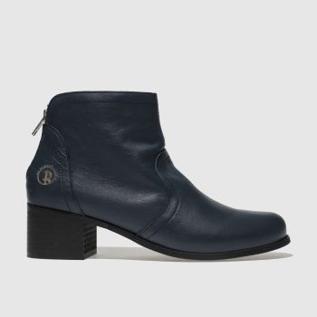 Red Or Dead Navy MARFA Boots