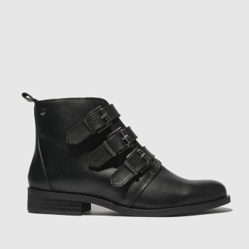 Red Or Dead Black Petros Womens Boots