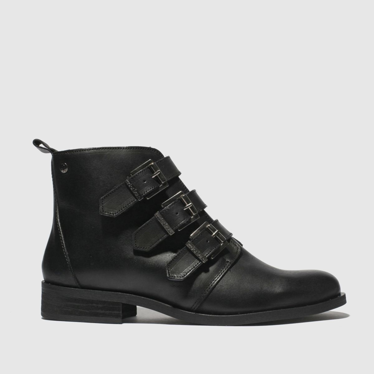 Red Or Dead Black Petros Boots