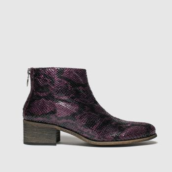 Red Or Dead Burgundy Dusty Womens Boots