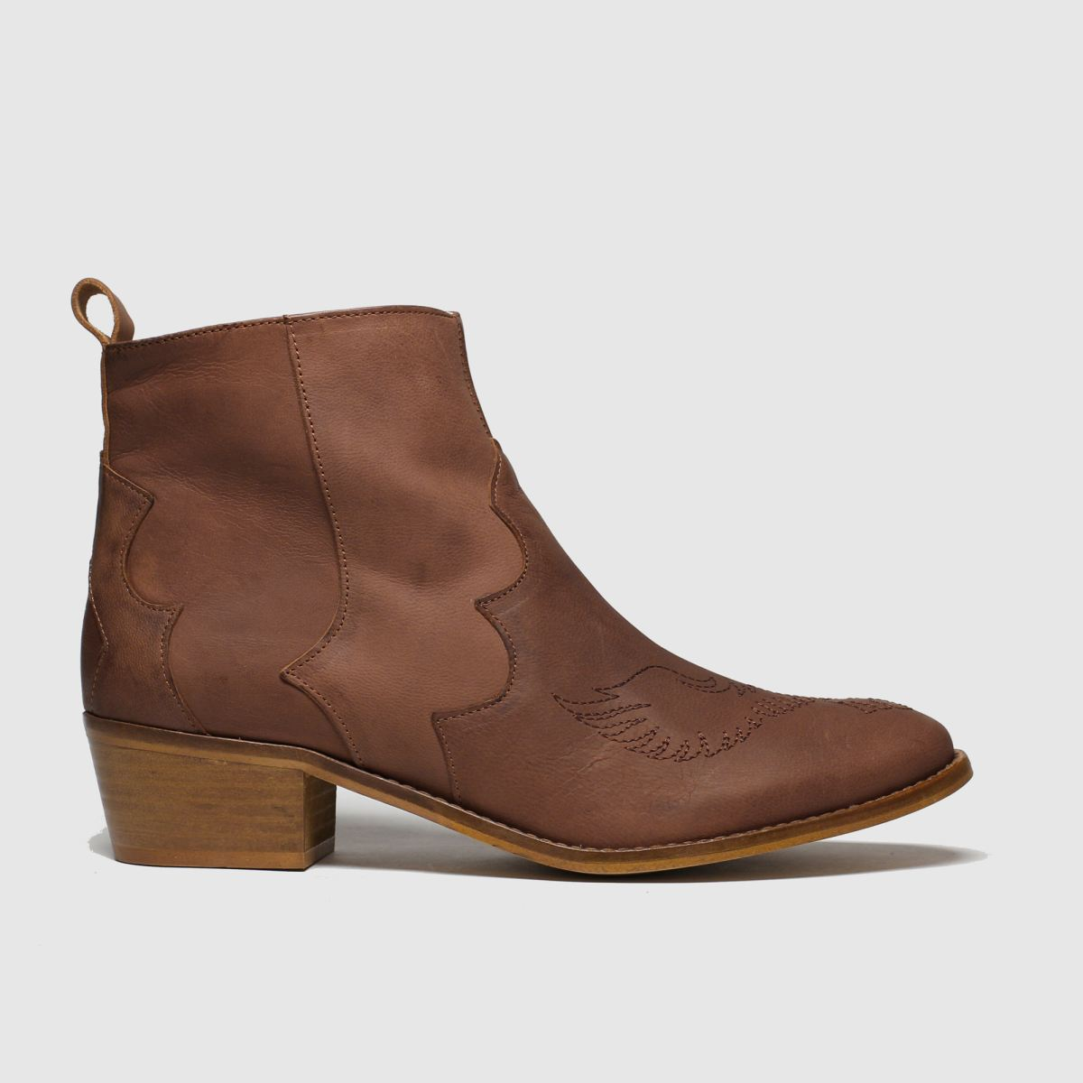 Red Or Dead Tan Oklahoma Boots