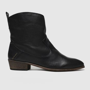 Red Or Dead Black Sawyer Boots