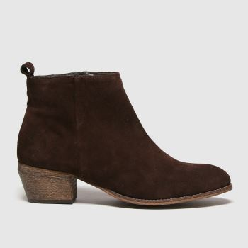 Red Or Dead Brown Ranger Western Suede Womens Boots