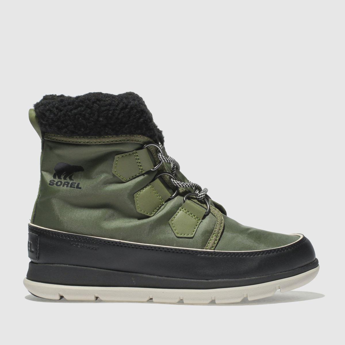 Sorel Khaki Explorer Carnival Boots