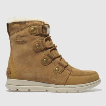 Sorel Tan Explorer Joan Womens Boots