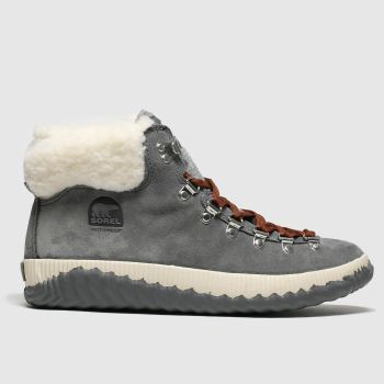 Sorel Grau Out N About Plus Conquest Damen Boots