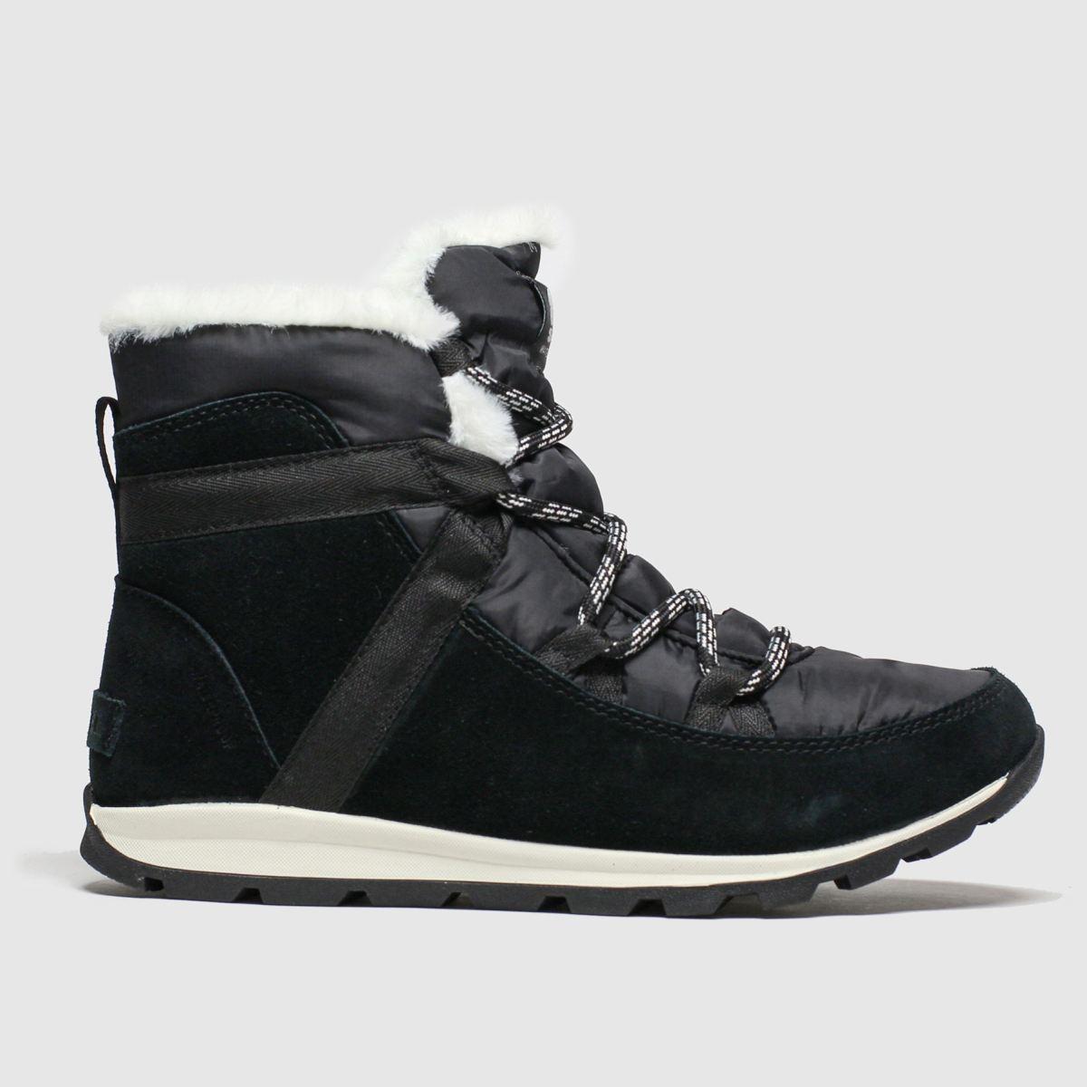 Sorel Black Whitney Flurry Boots