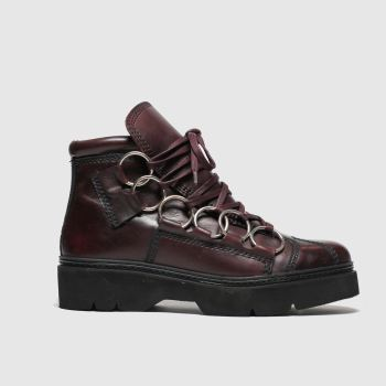 Schuh Burgundy Word c2namevalue::Womens Boots
