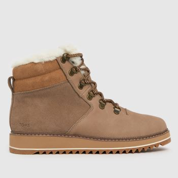 TOMS Tan Mojave Womens Boots