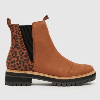 TOMS Brown Dakota Womens Boots