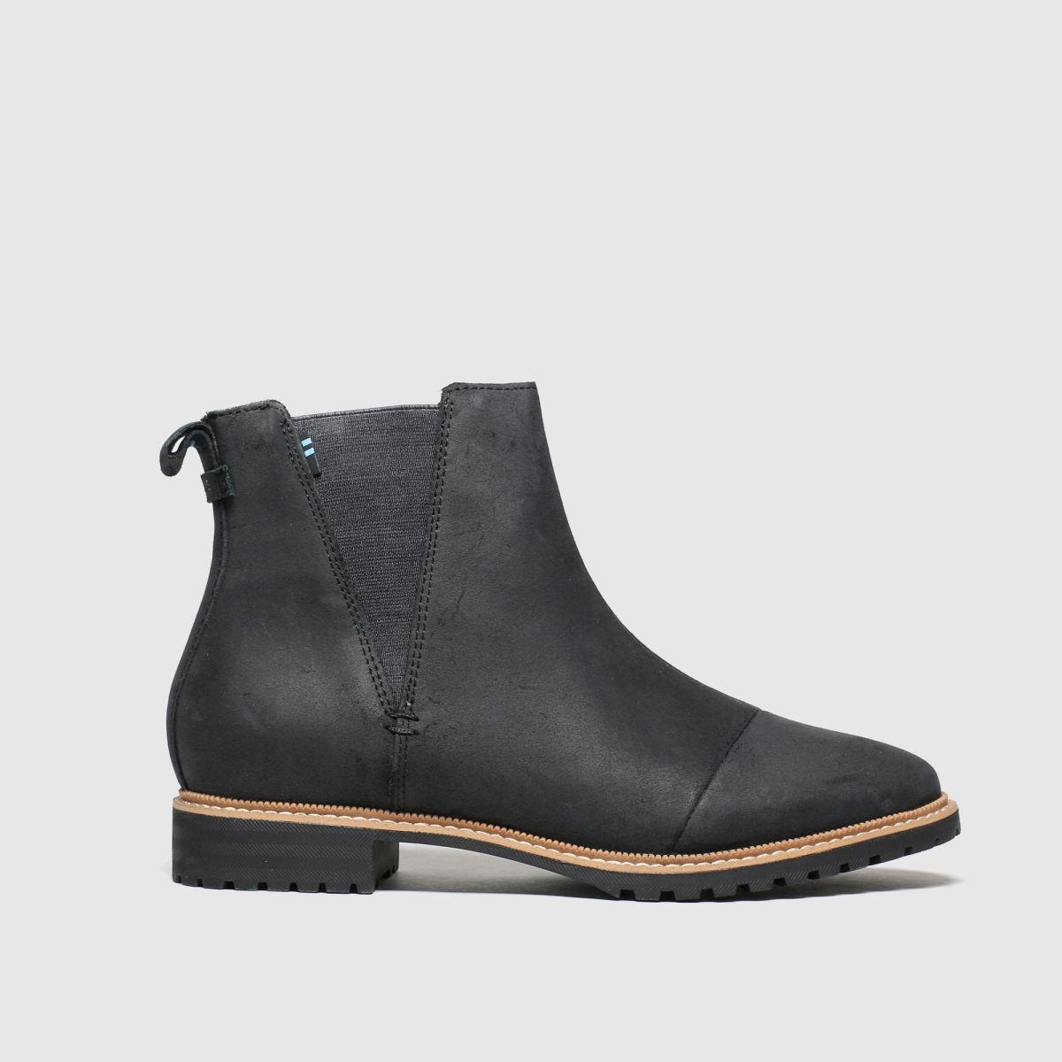 Toms Black Cleo Boots