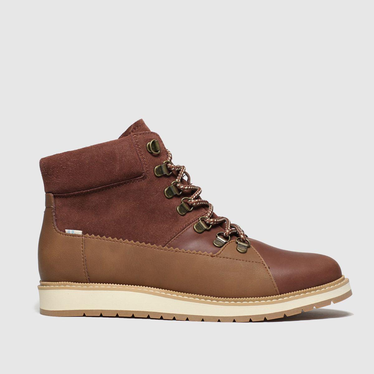 Toms Brown Mesa Boots