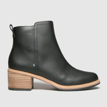 TOMS Black Marina Womens Boots