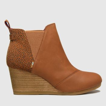 TOMS Tan Kelsey Womens Boots