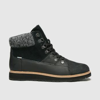 TOMS Black Mesa Womens Boots#