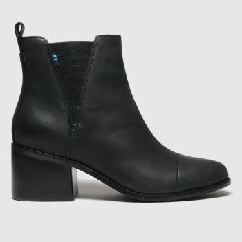 TOMS Black Esme Womens Boots