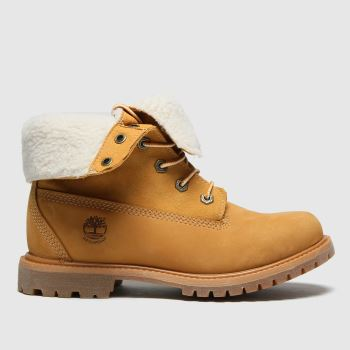 Timberland Natural Authentic Teddy Fleece Womens Boots#