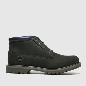 Timberland Dark Green Nellie Chukka Double Womens Boots