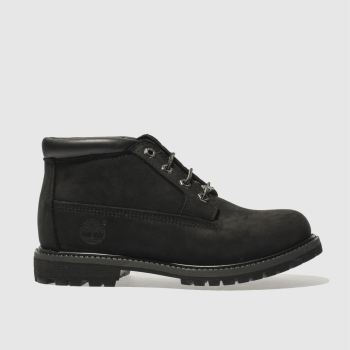 Timberland Black Nellie Chukka Double Womens Boots