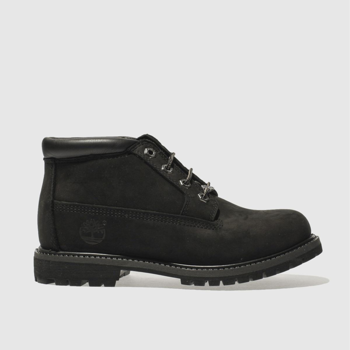 womens black timberland nellie chukka double boots | schuh