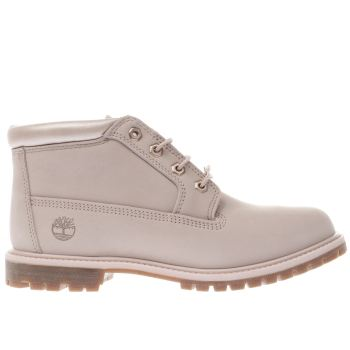 TIMBERLAND PALE PINK NELLIE CHUKKA DOUBLE BOOTS