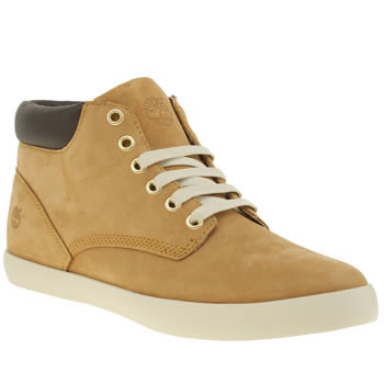 TIMBERLAND NATURAL FLANNERY CHUKKA BOOTS