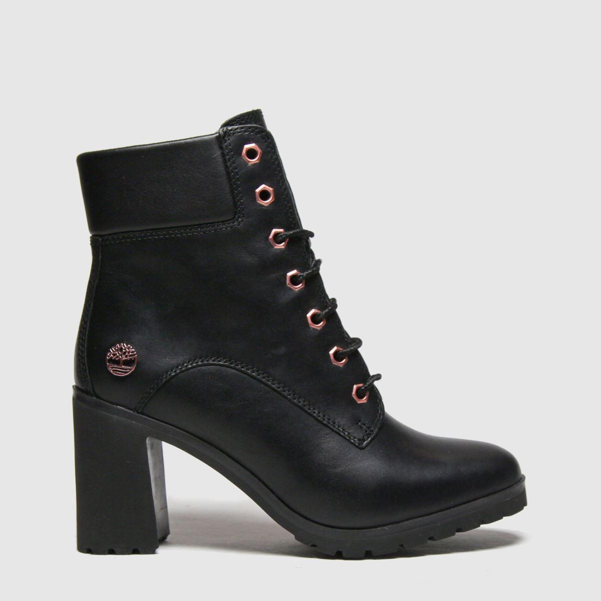 Timberland Black & Gold Allington Boots