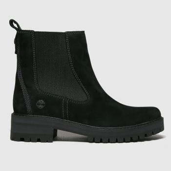 Timberland Black Courmayeur Valley Chelsea Womens Boots