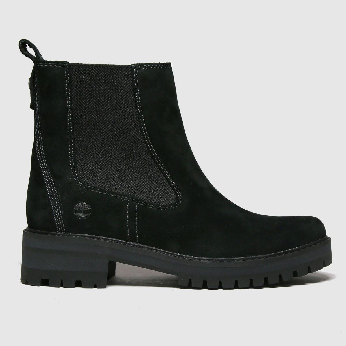 Timberland Black Courmayeur Valley Chelsea Boots